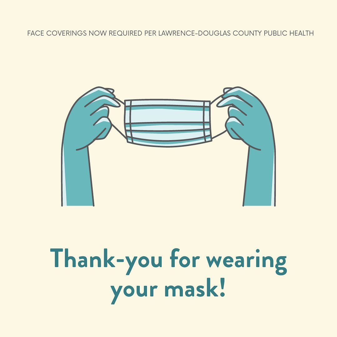 Thanks for Wearing Your Mask